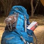 Rucksack mit 15 kg Wasser